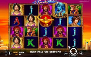 3 Genie Wishes Pragmatic Play Slots