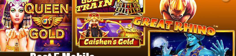 Best 5 Mobile Pragmatic Play Slots
